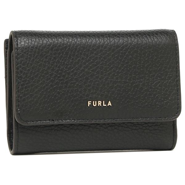 フルラ 三つ折り財布 バビロン Sサイズ ブラック レディース FURLA PCZ0UNO HSF000 O6000【返品OK】