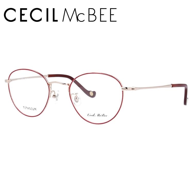 セシルマクビー メガネフレーム CECIL McBEE CMF 3022-2 49サイズ ボストン レディース