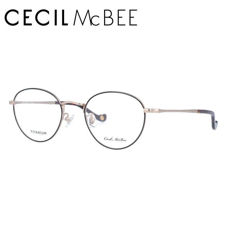 セシルマクビー メガネフレーム CECIL McBEE CMF 3022-4 49サイズ ボストン レディース