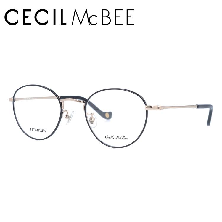 セシルマクビー メガネフレーム CECIL McBEE CMF 3022-5 49サイズ ボストン レディース