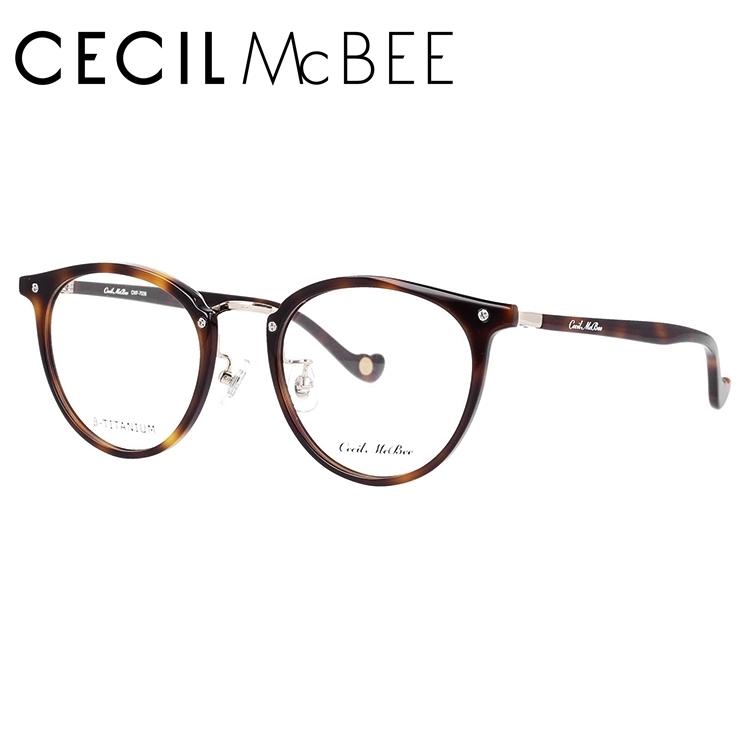 セシルマクビー メガネフレーム CECIL McBEE CMF 7036-2 49サイズ ボストン レディース