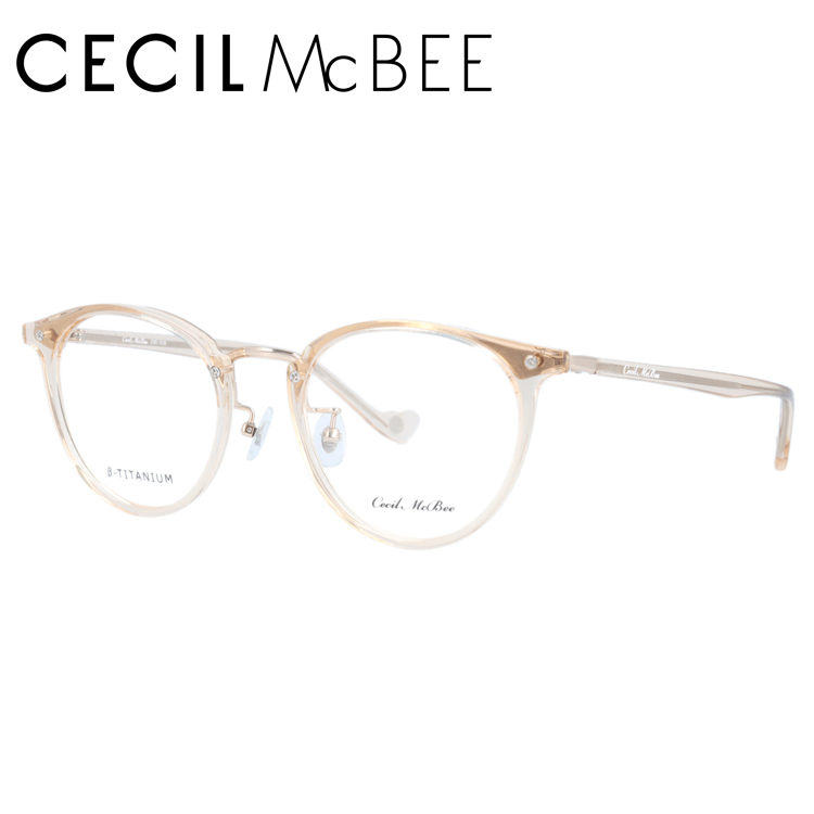 セシルマクビー メガネフレーム CECIL McBEE CMF 7036-4 49サイズ ボストン レディース