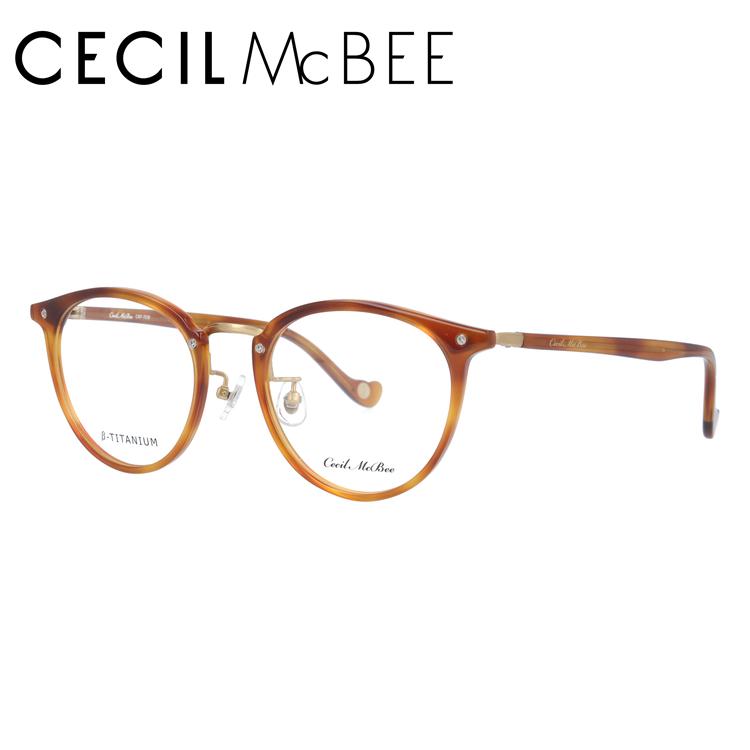 セシルマクビー メガネフレーム CECIL McBEE CMF 7036-5 49サイズ ボストン レディース