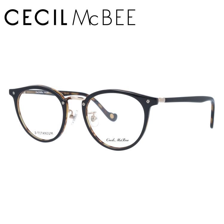 セシルマクビー メガネフレーム CECIL McBEE CMF 7036-6 49サイズ ボストン レディース