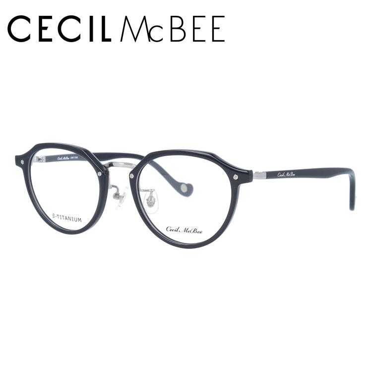 セシルマクビー メガネフレーム CECIL McBEE CMF 7046-3 49サイズ ボストン レディース