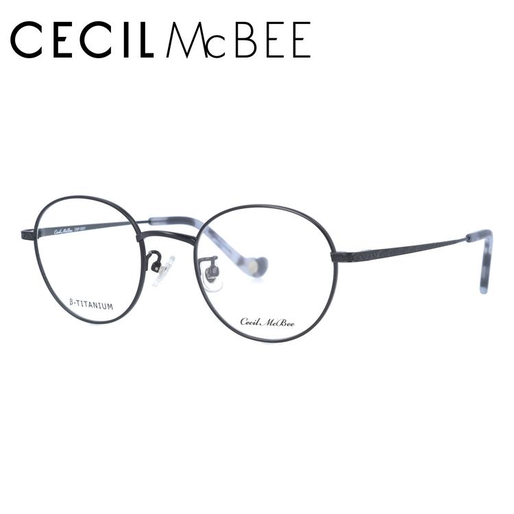 セシルマクビー メガネフレーム CECIL McBEE CMF 3031-1 47サイズ ラウンド レディース