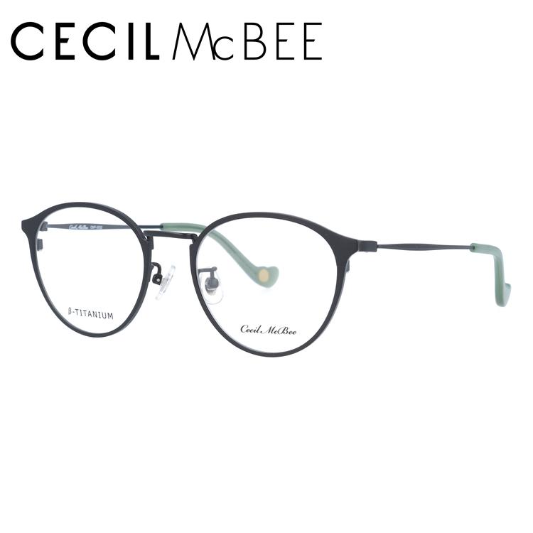 セシルマクビー メガネフレーム CECIL McBEE CMF 3032-1 47サイズ ボストン レディース