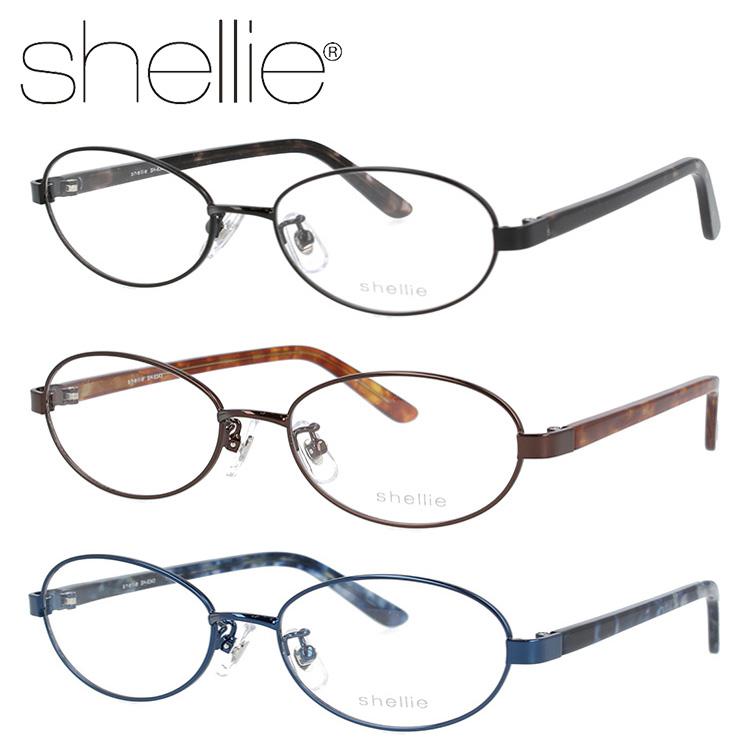 シェリー メガネフレーム shellie SH6343 全3カラー 51サイズ オーバル メンズ レディース