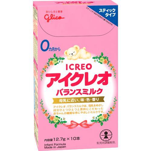 アイクレオ バランスミルク スティックタイプ(12.7g*10本入)[ミルク 新生児]