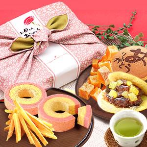 母の日  風呂敷和菓子セット [常温]