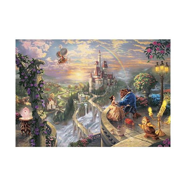 テンヨー 1000ピース ジグソーパズル ディズニー 美女と野獣 Beauty and the Beast Falling in Love(51x73.5cm)