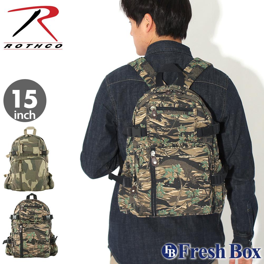 ROTHCO ロスコ バッグ リュック メンズ ミリタリー アウトドア バックパック Vintage Canvas Mini Backpack [rothco-9720-9762] (USAモデ