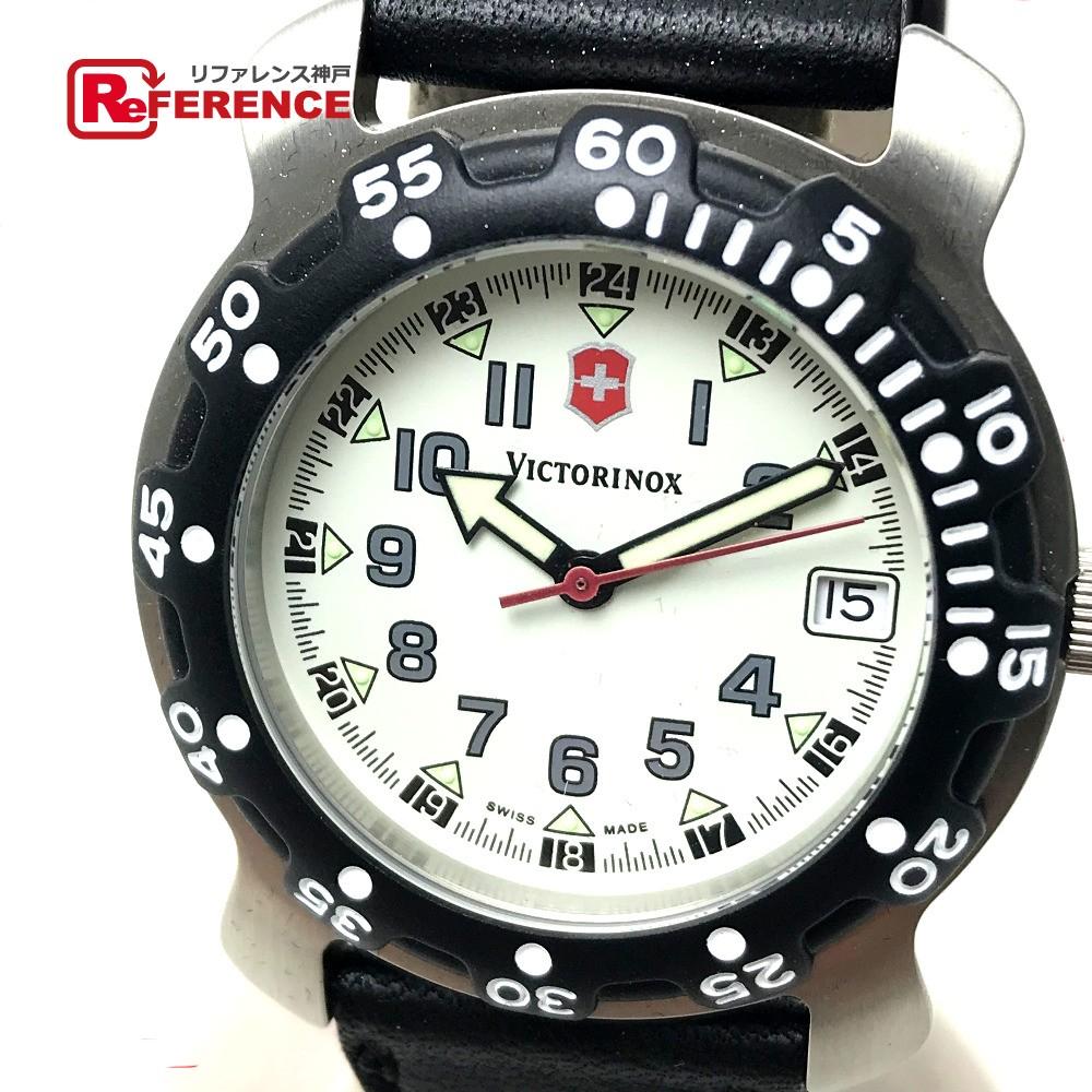 あす着 Victorinox ビクトリノックス 4.562 クオーツ デイト メンズ腕時計 腕時計 メンズ