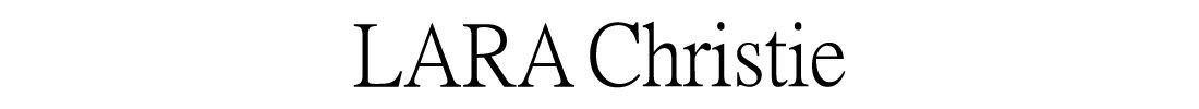 ブランド LARA Chrisite (ララクリスティー)のロゴ