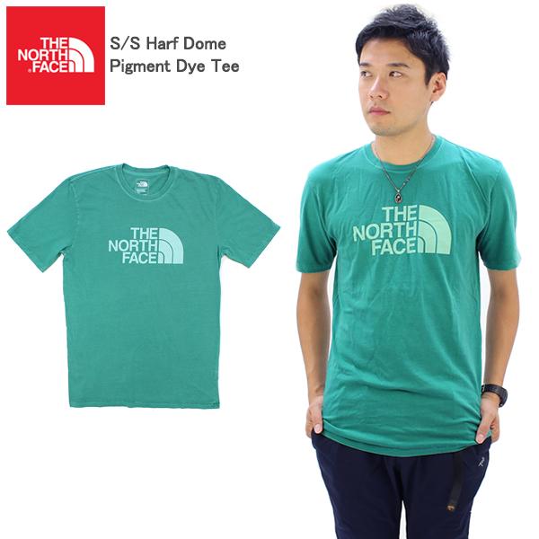 【ゆうパケット送料無料】ザ・ノースフェイス(THE NORTH FACE) S/S Harf Dome Pigment Dye Tee メンズ 半袖 Tシャツ US企画 [小物][AA-2]