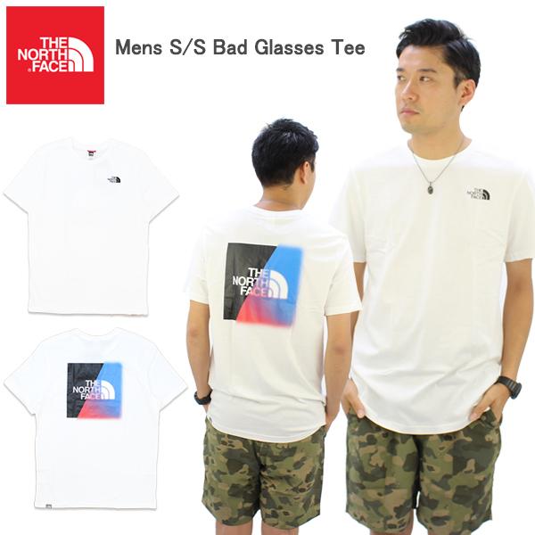 ザ・ノースフェイス(THE NORTH FACE) Mens S/S Bad Glasses Tee メンズ 半袖 Tシャツ ゆうパケット送料無料[AA-2]