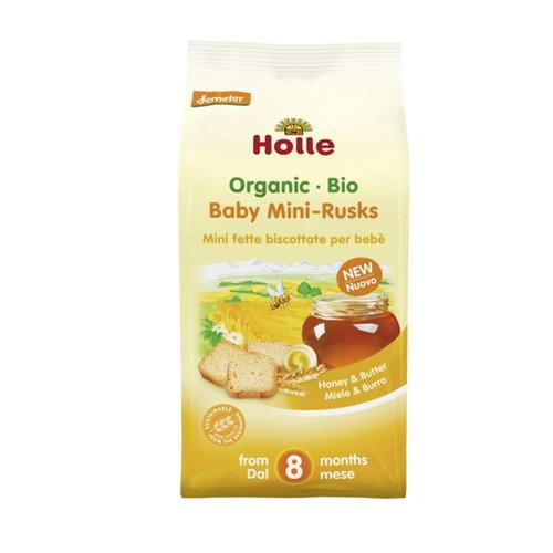 ミニラスク 100g 【Holle Baby Food】