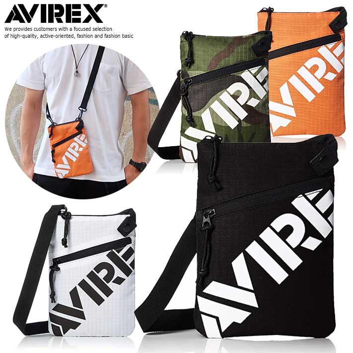 アヴィレックス AVIREX VAGE サコッシュ メンズ ショルダーバッグ メンズ 軽量 AVX003 Y-LO 190205-3
