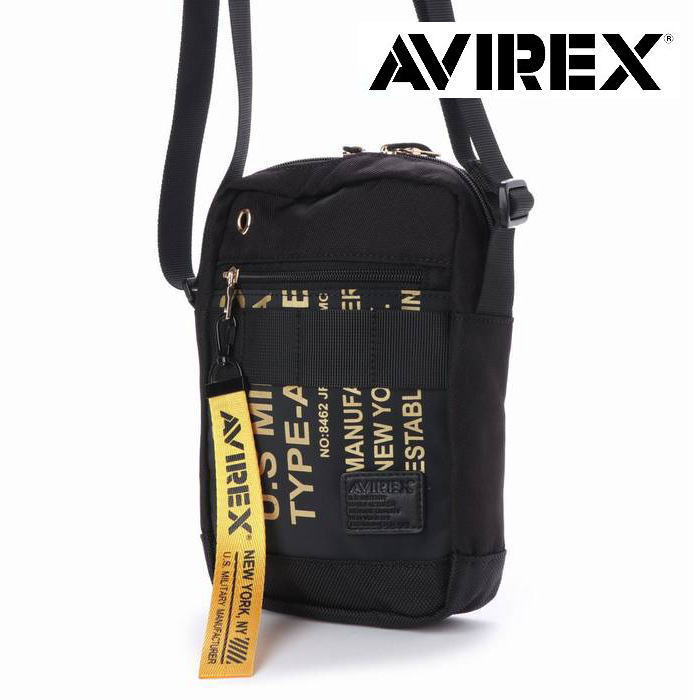 AVIREX アヴィレックス ショルダーバッグ メンズ ショルダーバッグ アビレックス 鞄 かばん Y_LO AVX595 190329