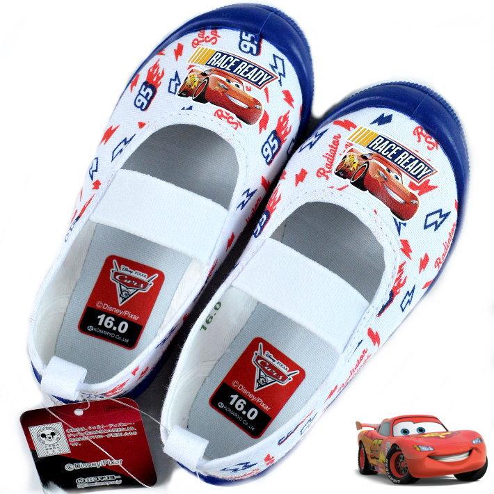カーズ 上履き 子供靴 男の子 キッズ シューズ 上靴 ディズニー CARS DISNEY ライトニング 子供 Y_KO 7261 ブルー 青 190710