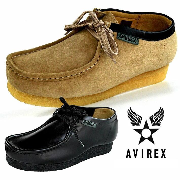 AVIREX アビレックス ブーツ メンズ モカシンブーツ マディソン MADISON ローカット本革 レザーY_KO AV6510 200110