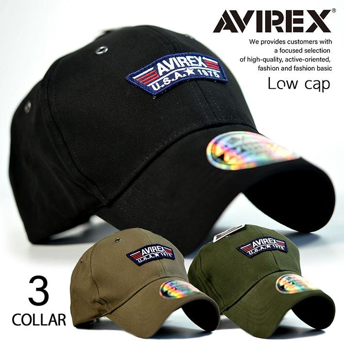 AVIREX ローキャップ キャップ メンズ 帽子 アビレックス アヴィレックス 正規品 キャップ ブランド TP PATCH LOW 送料無料 14649200