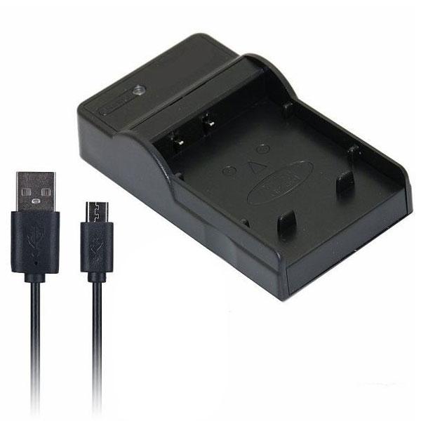 定形外 DC131 USB型バッテリー充電器 キヤノン CG-700互換バッテリーチャージャー Canon BP-709/BP-718/BP-727対応
