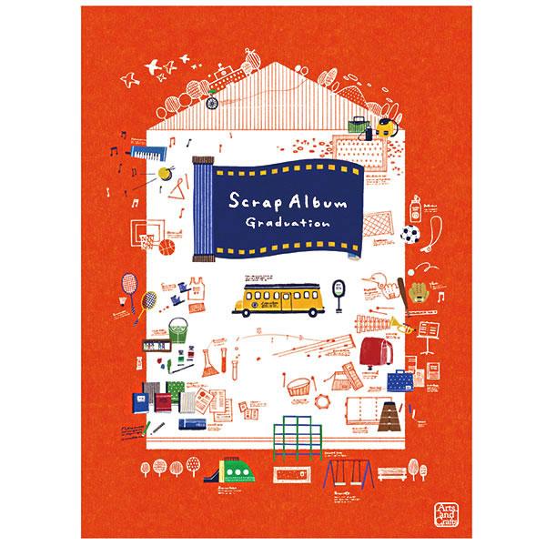 コクヨS & T スクラップアルバム Graduation(すがわら あい)