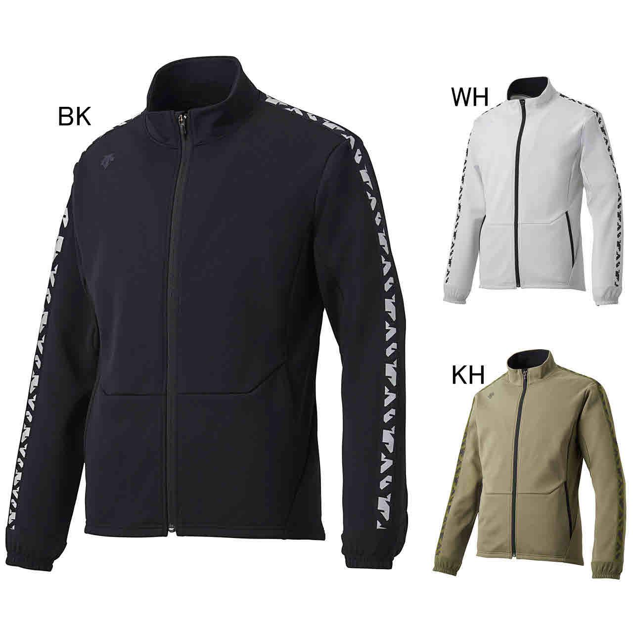 デサント エクササイズ フィットネス ジャケット シャツ メンズ ユニセックス スウェット ジャケット DMMNJF26Z