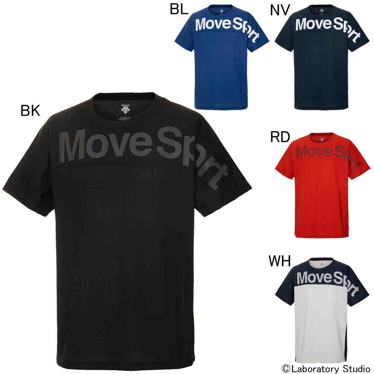 デサント エクササイズ フィットネス シャツ トップス メンズ ユニセックス クアトロセンサー Tシャツ DMMPJA50