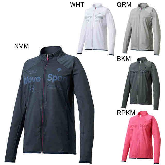 デサント エクササイズ フィットネス ジャケット シャツ レディース レディース タフスウェット ジャケット DMWLJF11