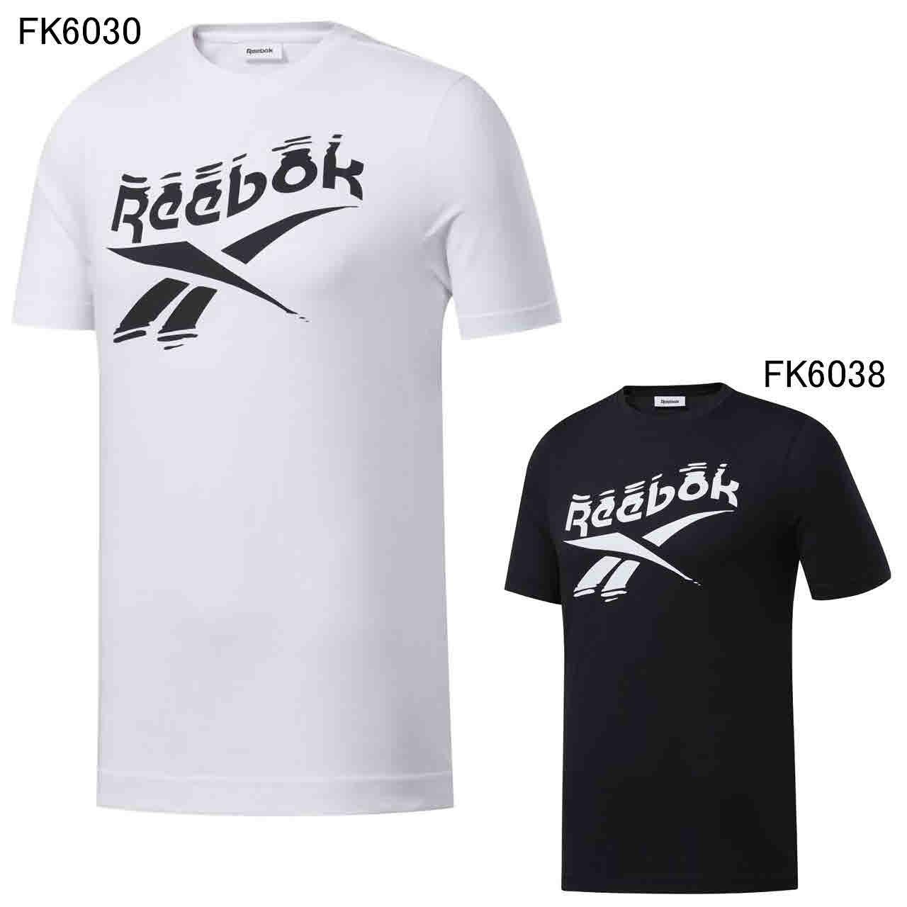 リーボック エクササイズ フィットネス シャツ トップス メンズ ユニセックス GS Branded Crew Tee Reebok GJC12