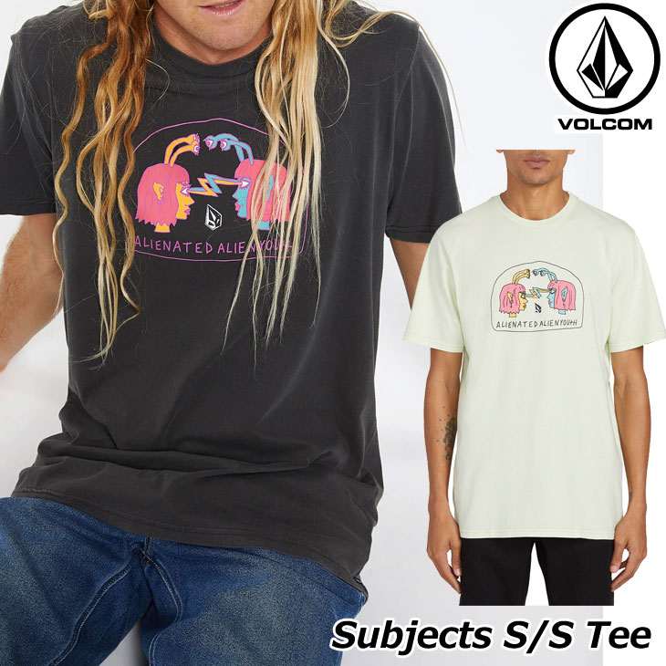 ボルコム VOLCOM メンズ Tシャツ SUBJECTS S/S TEE 半袖 A5212003 ship1