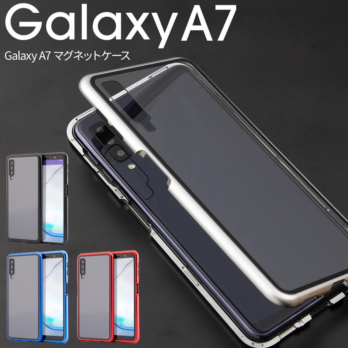スマホケース Galaxy A7 ケース マグネットケース かっこいい おしゃれ 人気 かわいい おすすめ マグネットギャラクシー 送料無料