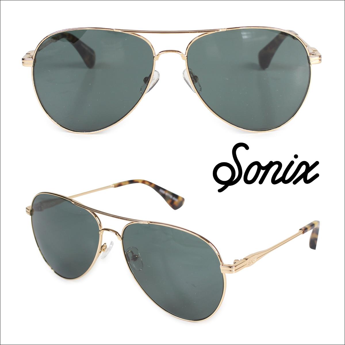 Sonix ソニックス サングラス レディース LODI 500-0770-040 オリーブ