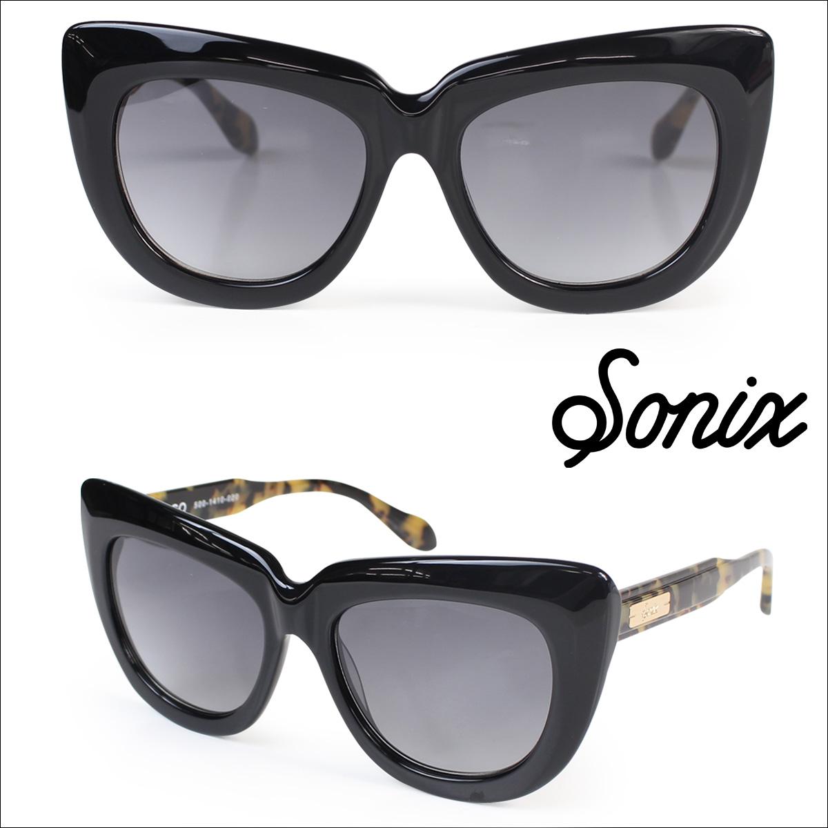 Sonix ソニックス サングラス レディース COCO 500-1410-020 ブラック
