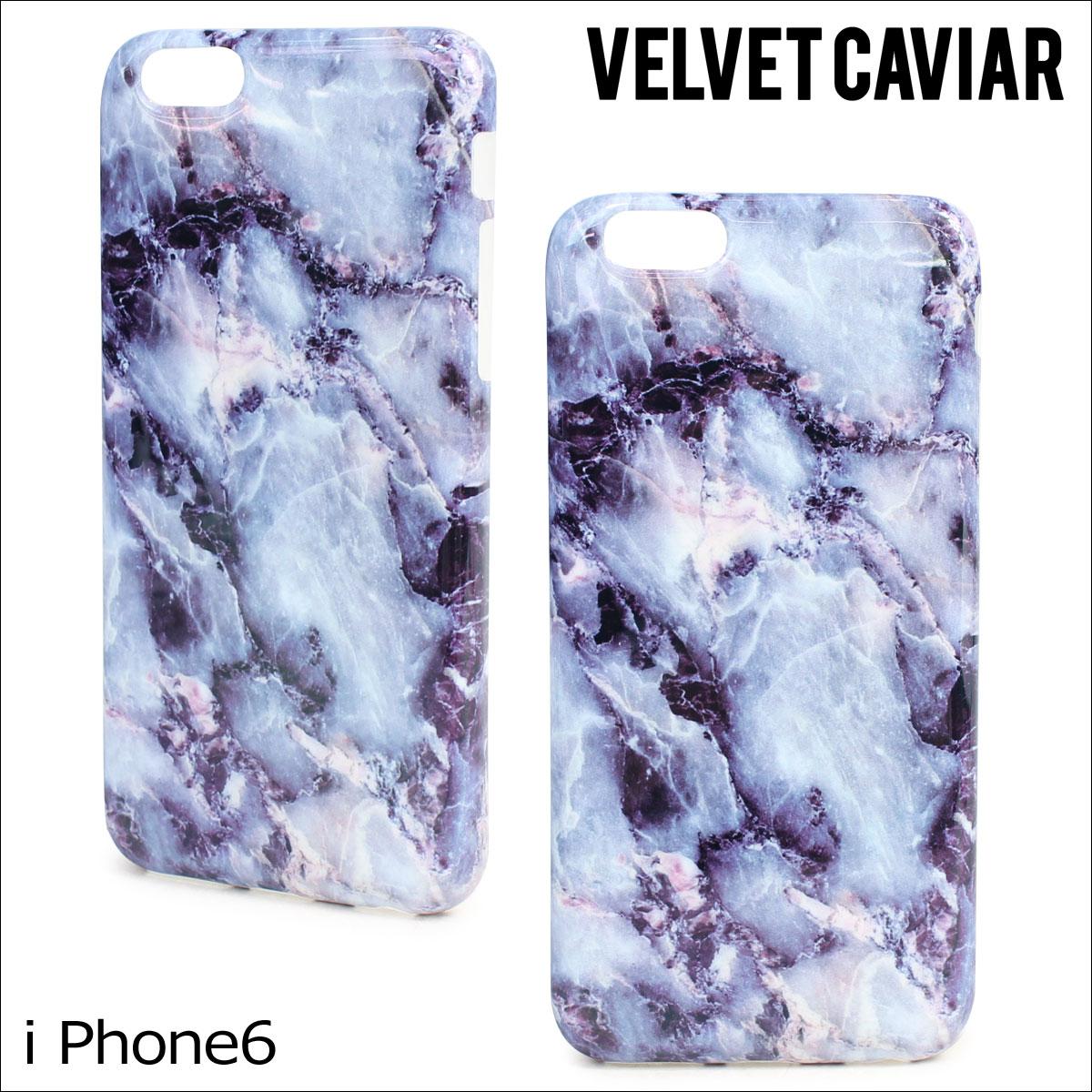 Velvet Caviar ヴェルヴェット キャビア iPhone8 SE 7 6 6s ケース スマホ 携帯 アイフォン アイフォーン ベルベット BLUE MARBLE iPhone