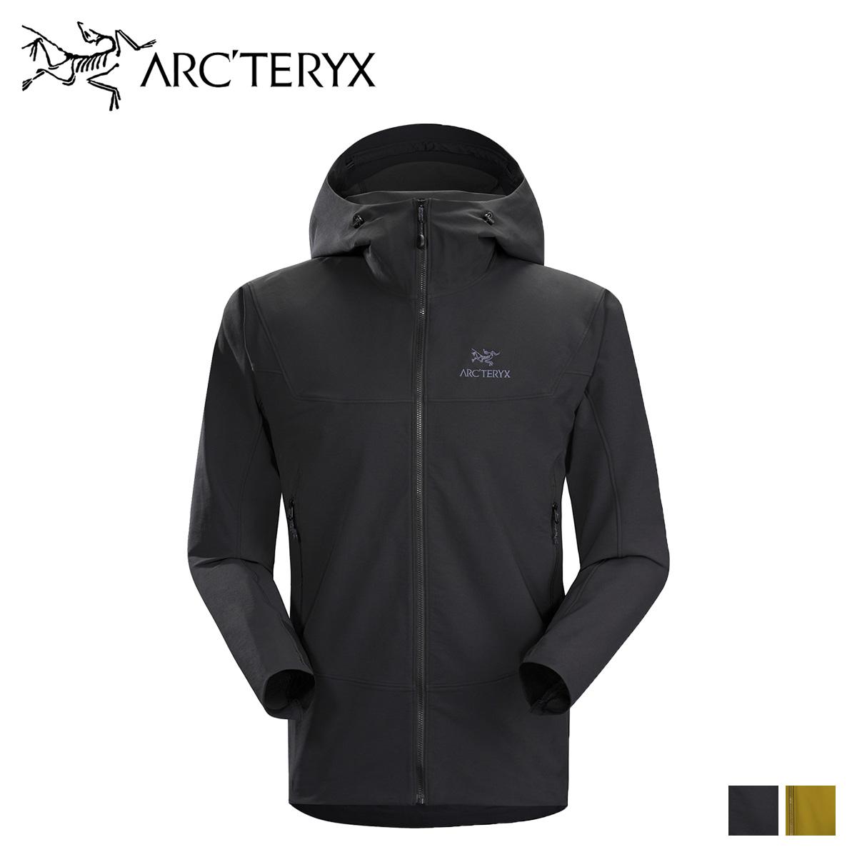アークテリクス ARCTERYX ジャケット マウンテンパーカ ガンマー メンズ GAMMA LT HOODY ブラック 黒