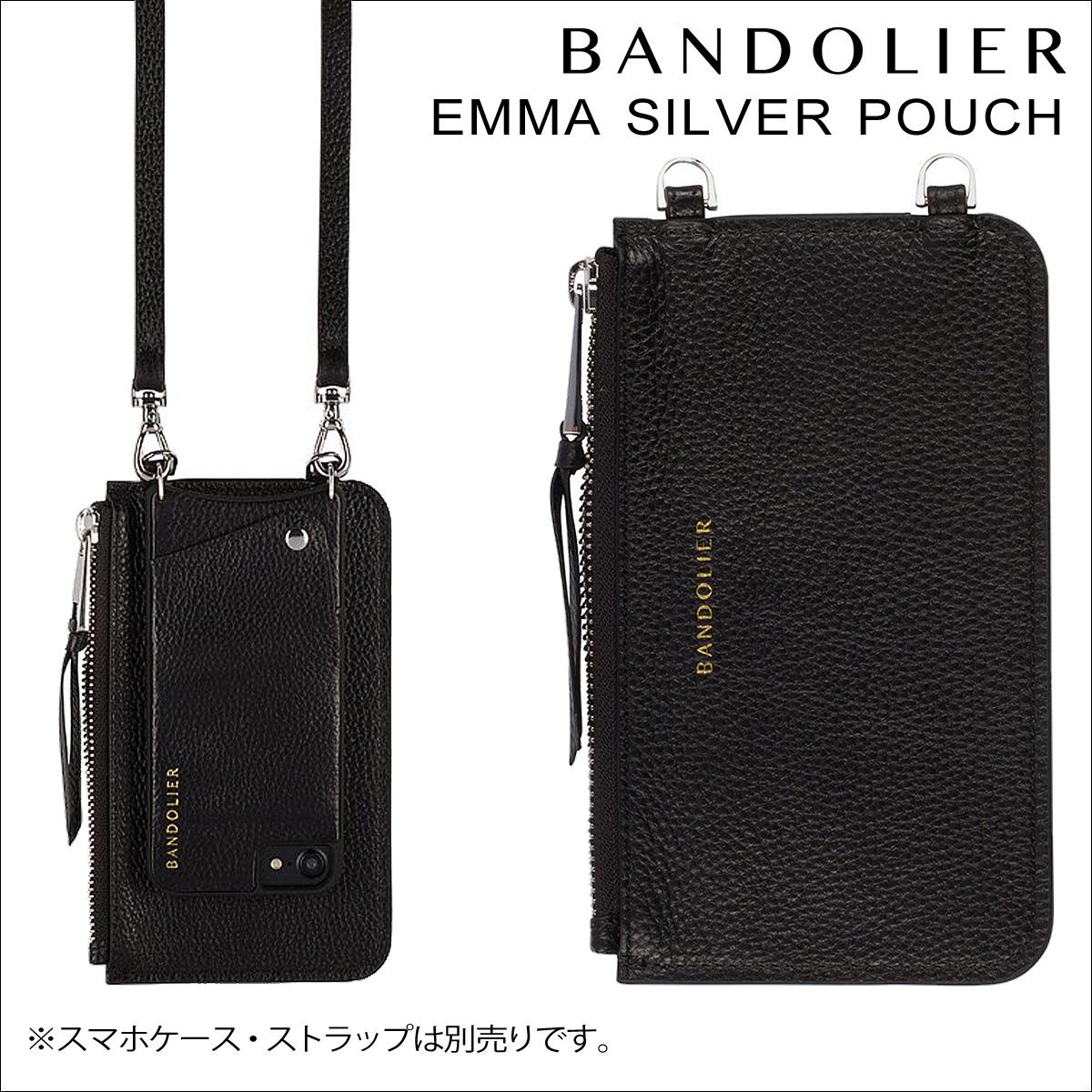 BANDOLIER バンドリヤー ポーチ EMMA POUCH レザー メンズ レディース
