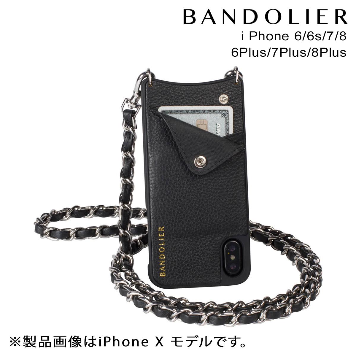 BANDOLIER バンドリヤー iPhone SE 8 7 6 6s/Plus ケース スマホ 携帯 アイフォン プラス LUCY SILVER メンズ レディース