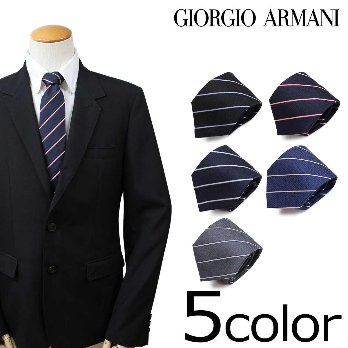 ジョルジオ アルマーニ GIORGIO ARMANI ネクタイ メンズ イタリア製 シルク ビジネス 結婚式
