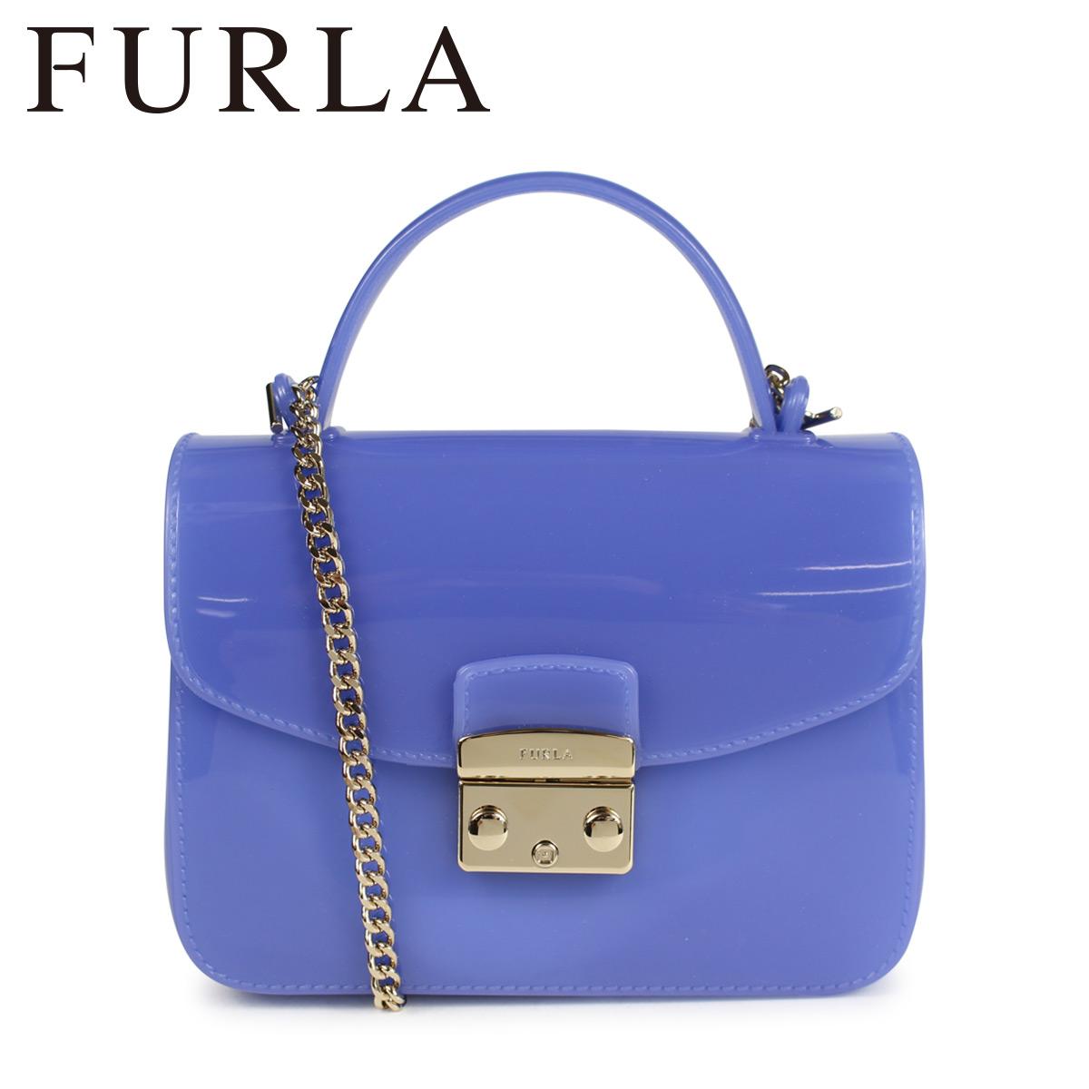 フルラ FURLA バッグ ショルダーバッグ レディース CANDY MERINGA MINI SHOULDER BAG ブルー 961667