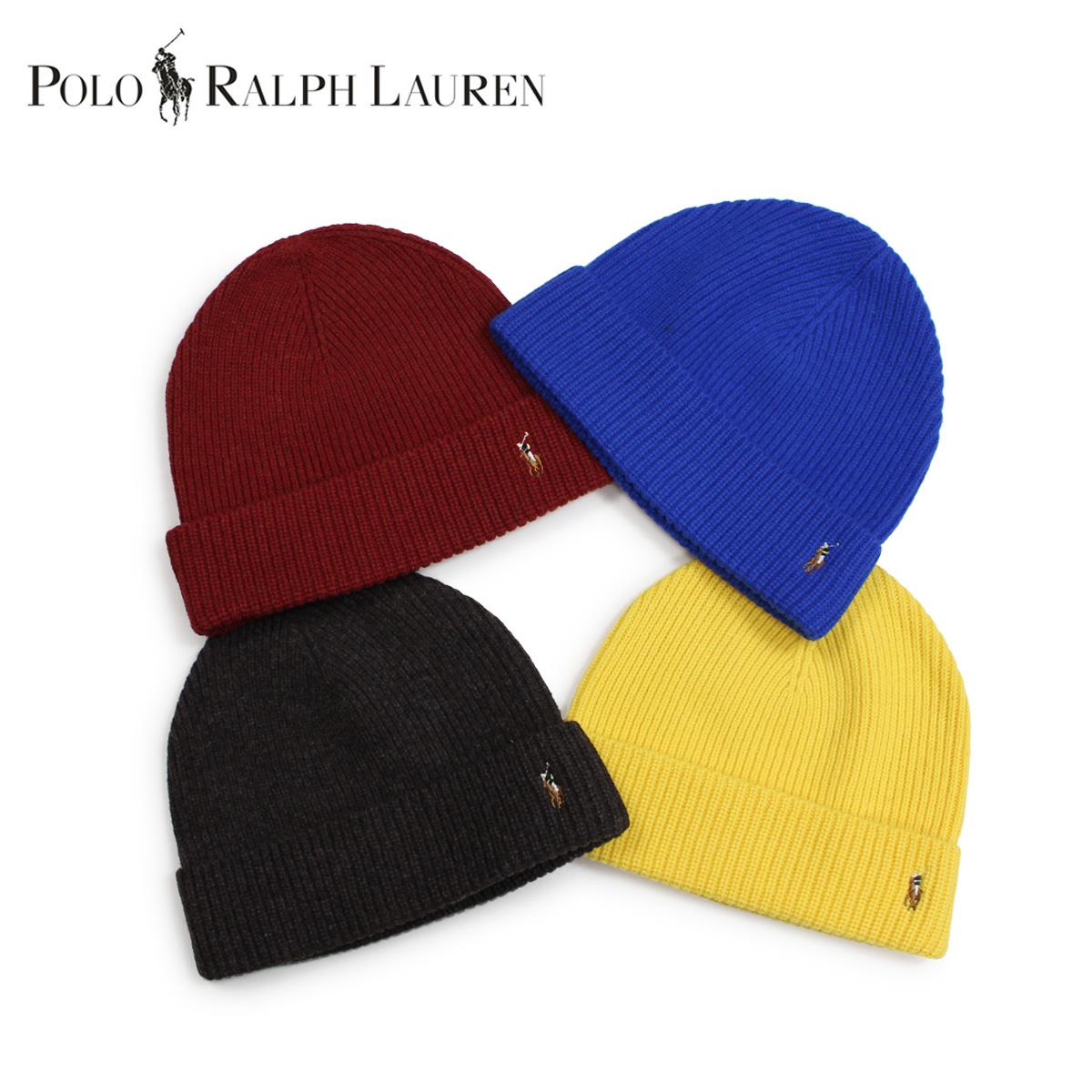 ポロ ラルフローレン POLO RALPH LAUREN ニット帽 ニットキャップ ビーニー メンズ レディース メリノウール SIGNATURE MERINO CUFF HAT