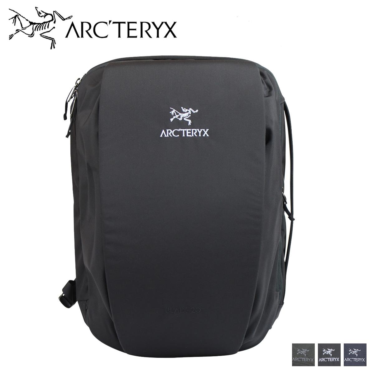 アークテリクス ARCTERYX リュック バッグ バックパック メンズ 20L BLADE 20 ブラック グレー 黒 16179