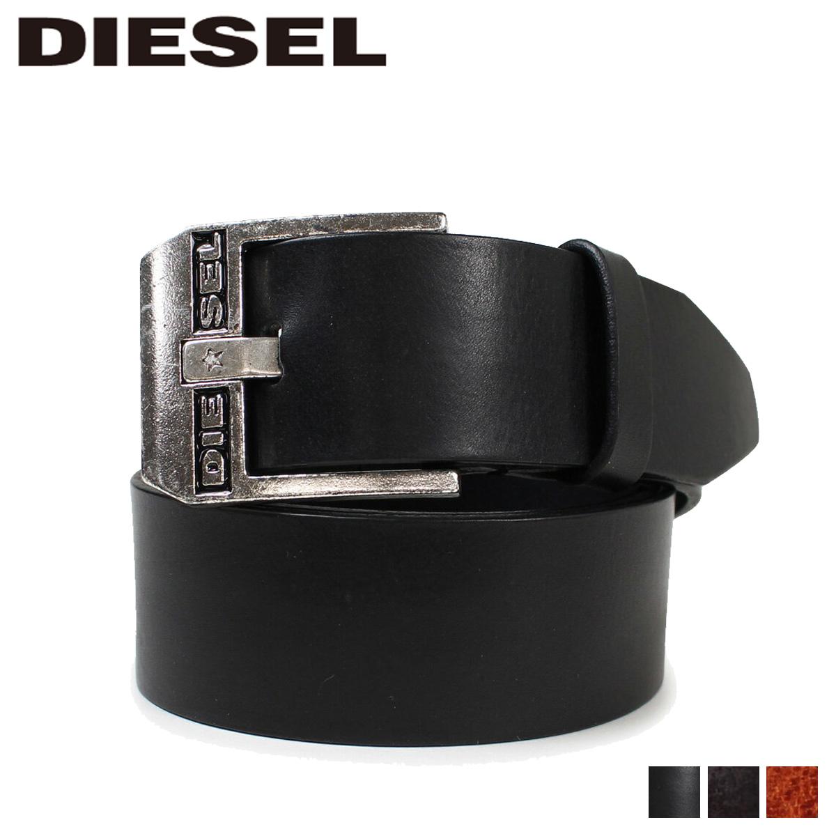 ディーゼル DIESEL ベルト メンズ レザー 本革 牛革 カジュアル BLUESTAR ブラック ブラウン X03728 PR227
