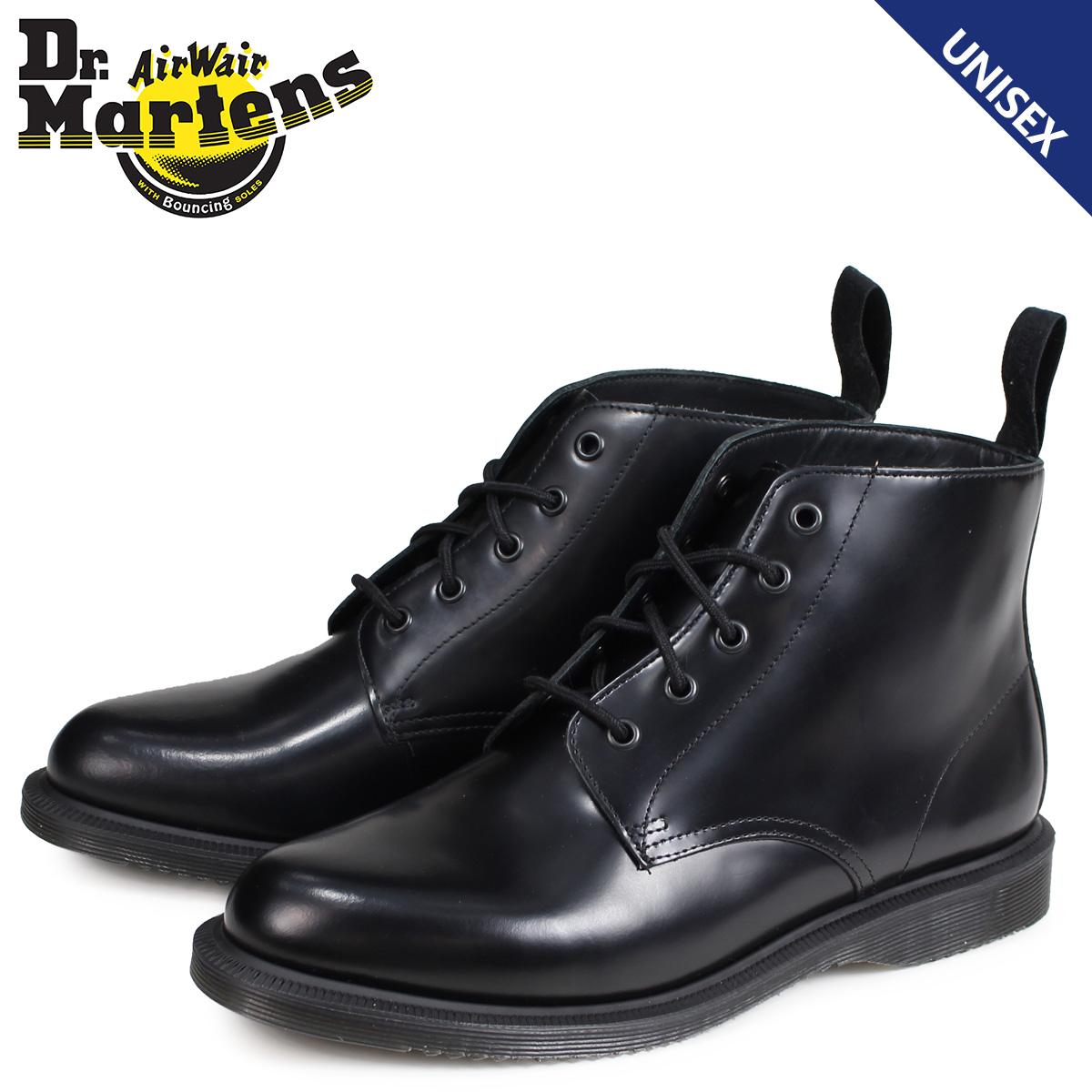 ドクターマーチン Dr. Martens 5ホール ブーツ メンズ レディース EMMELINE KENSINGTON 5EYE BOOT ブラック R16701001