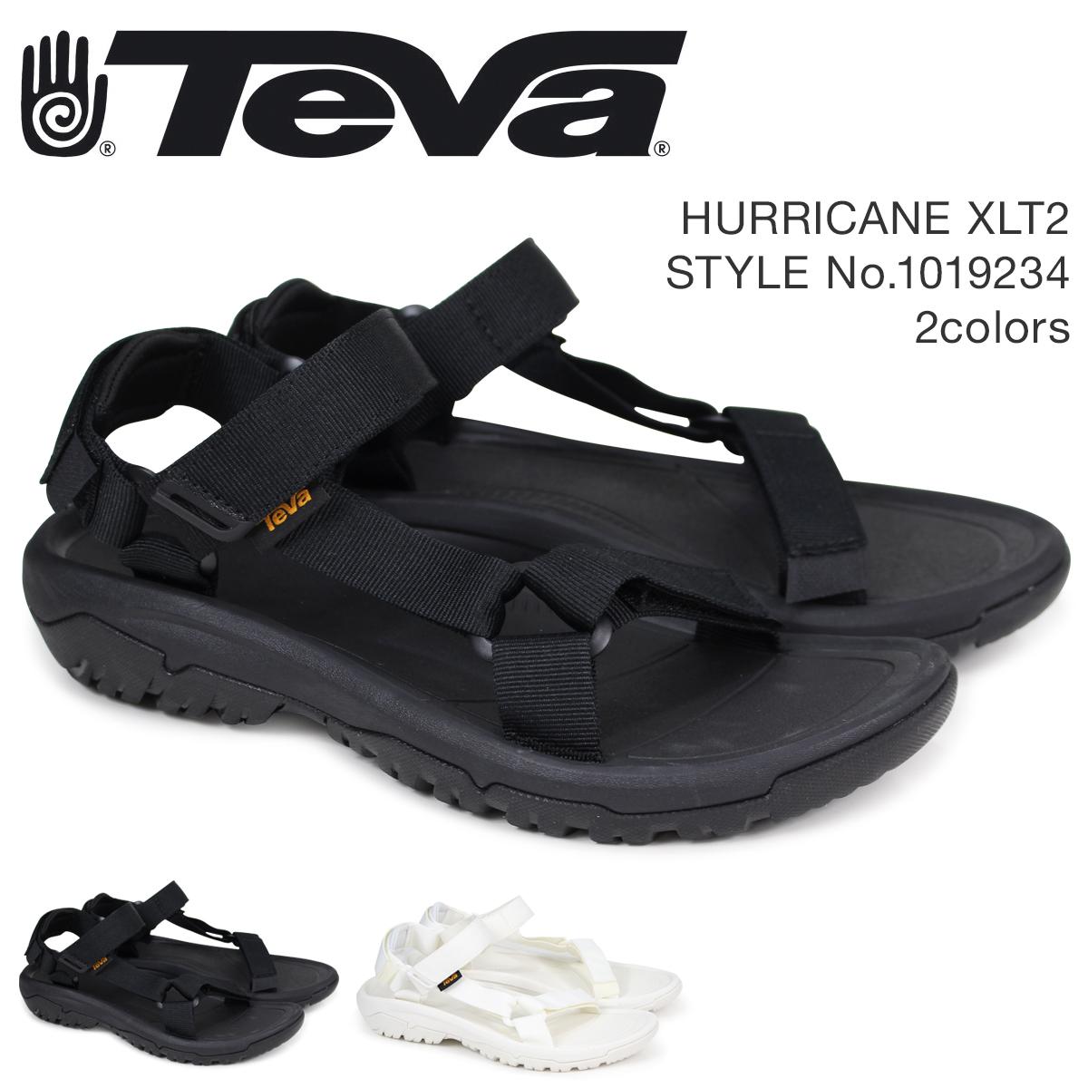 Teva テバ サンダル メンズ ハリケーン XLT2 HURRICANE ブラック ホワイト 1019234