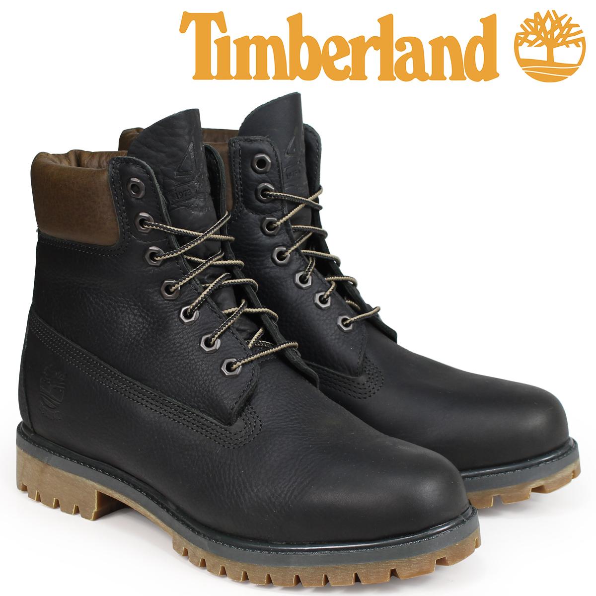 ティンバーランド Timberland ブーツ メンズ 6インチ HERITAGE 6-INCH PREMIUM BOOTS A1R1A Wワイズ ダークグレー