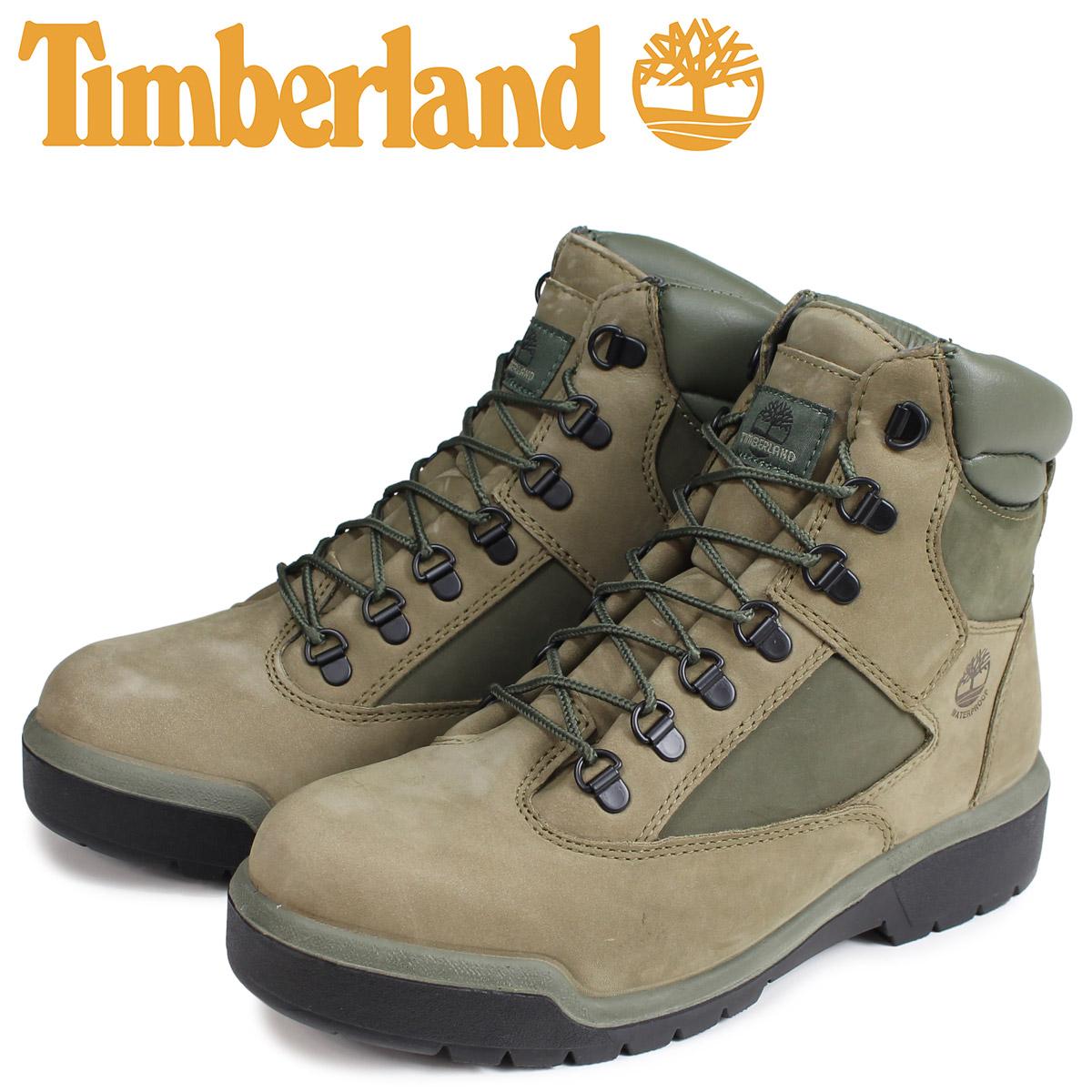 ティンバーランド Timberland ブーツ 6インチ メンズ 6-INCH FIELD BOOT Mワイズ ライトグリーン A1RBP