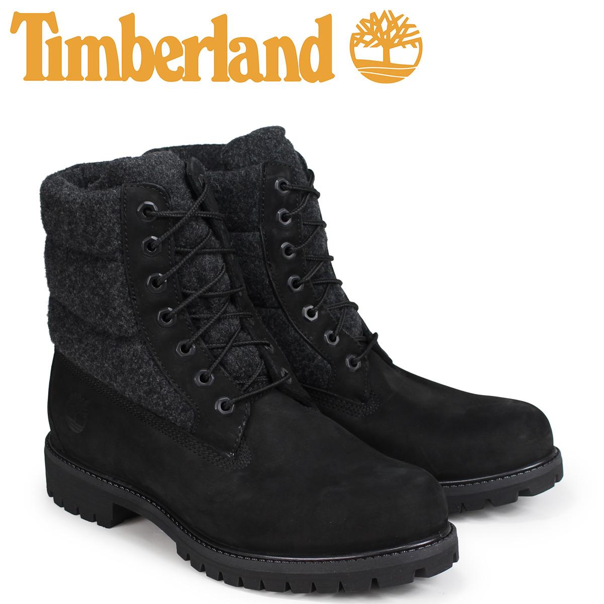 ティンバーランド Timberland ブーツ メンズ 6インチ 6-INCH PREMIUM PUFF BOOTS A1ZR6 Wワイズ ブラック